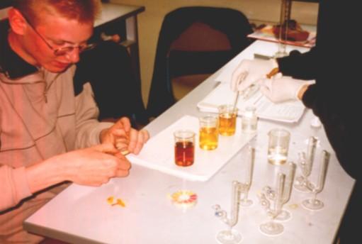 versuche aminosäuren chemie